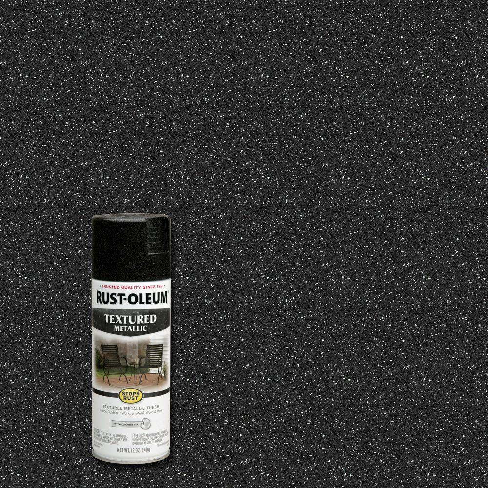 Rust-Oleum Stops Rust 12 oz. Textured Metallic Galaxy Protective Spray Paint (6-Pack)
