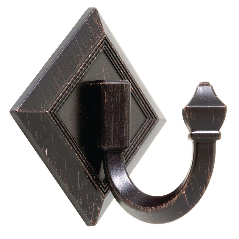 Liberty Art Deco Self Adhesive Single Prong Hook-DISCONTINUED