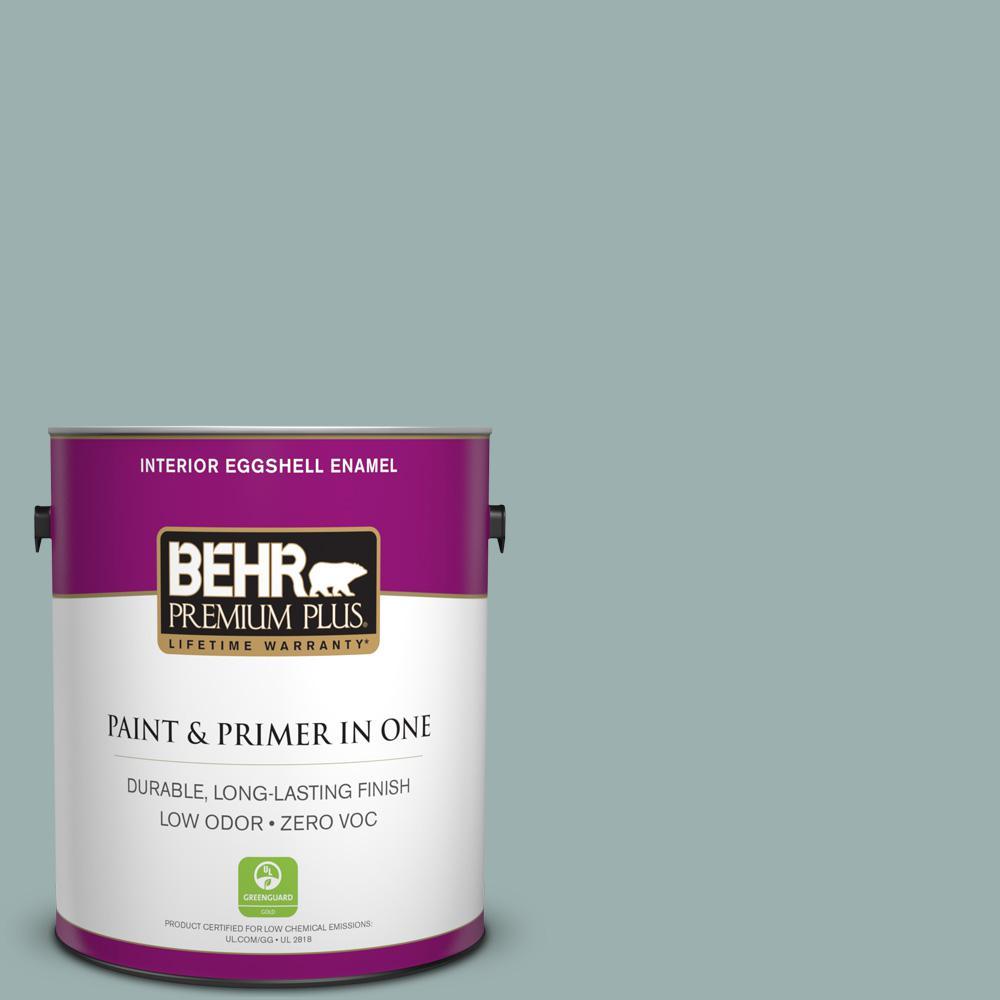 BEHR Premium Plus 1-gal. #PPF-36 Veranda Charm Zero VOC Eggshell Enamel Interior Paint