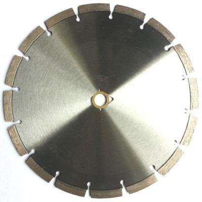 14 in. Segmented Diamond Saw Blade for Concrete and Masonry 14 mm High Segment Height