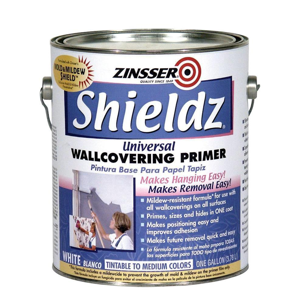 Zinsser 1 gal. Shieldz Universal Water Based White Primer and Sealer (Case of 4)