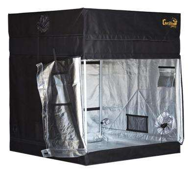 5 ft. x 5 ft. Black Shorty Grow Tent with 9 in. Extension Kit