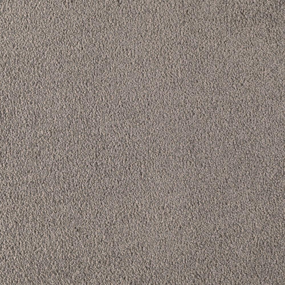 LifeProof Cashmere III - Color Battleship Texture 12 ft. Carpet