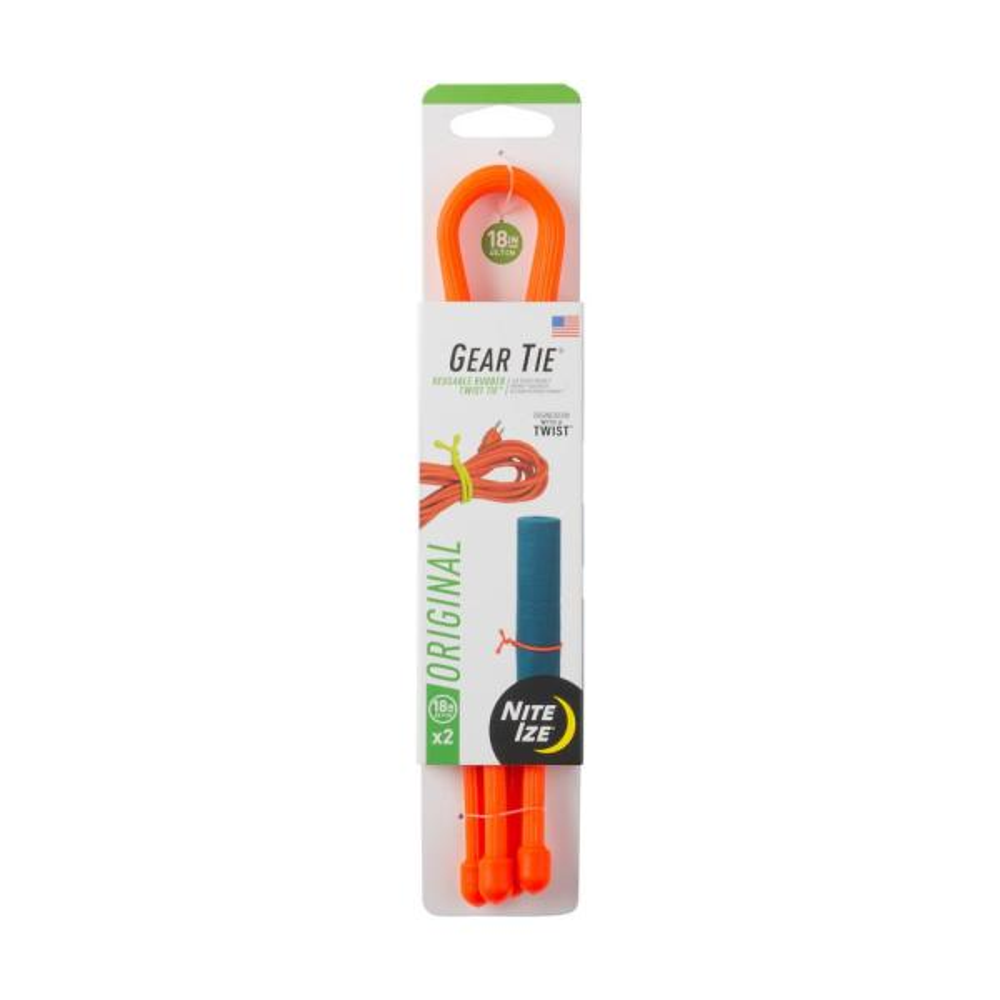 18 in. Bright Orange Gear Tie (2-Pack)