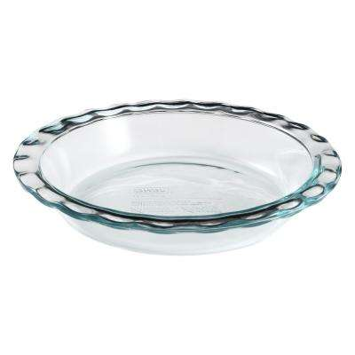 Easy Grab 9.5-In Glass Pie Plate