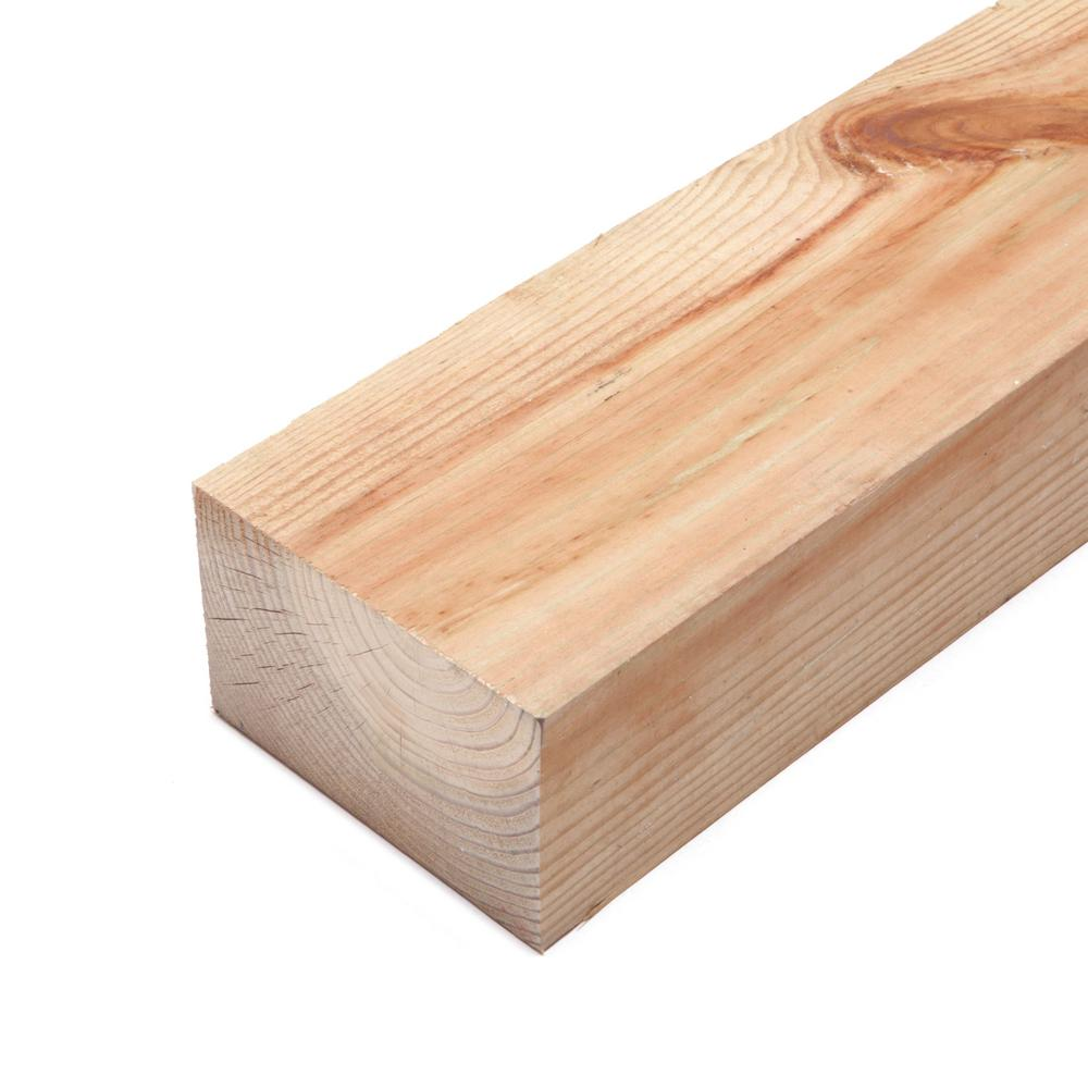 4 in. x 6 in. x 12 ft. #2 Ground Contact Cedar-Tone Pressure-Treated Timber