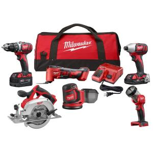 Milwaukee M18 18-Volt Lithium-Ion Cordless Combo Kit