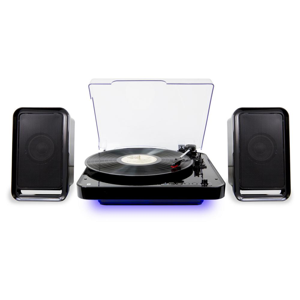 ILIVE Bluetooth Wireless Turntable with Speakers