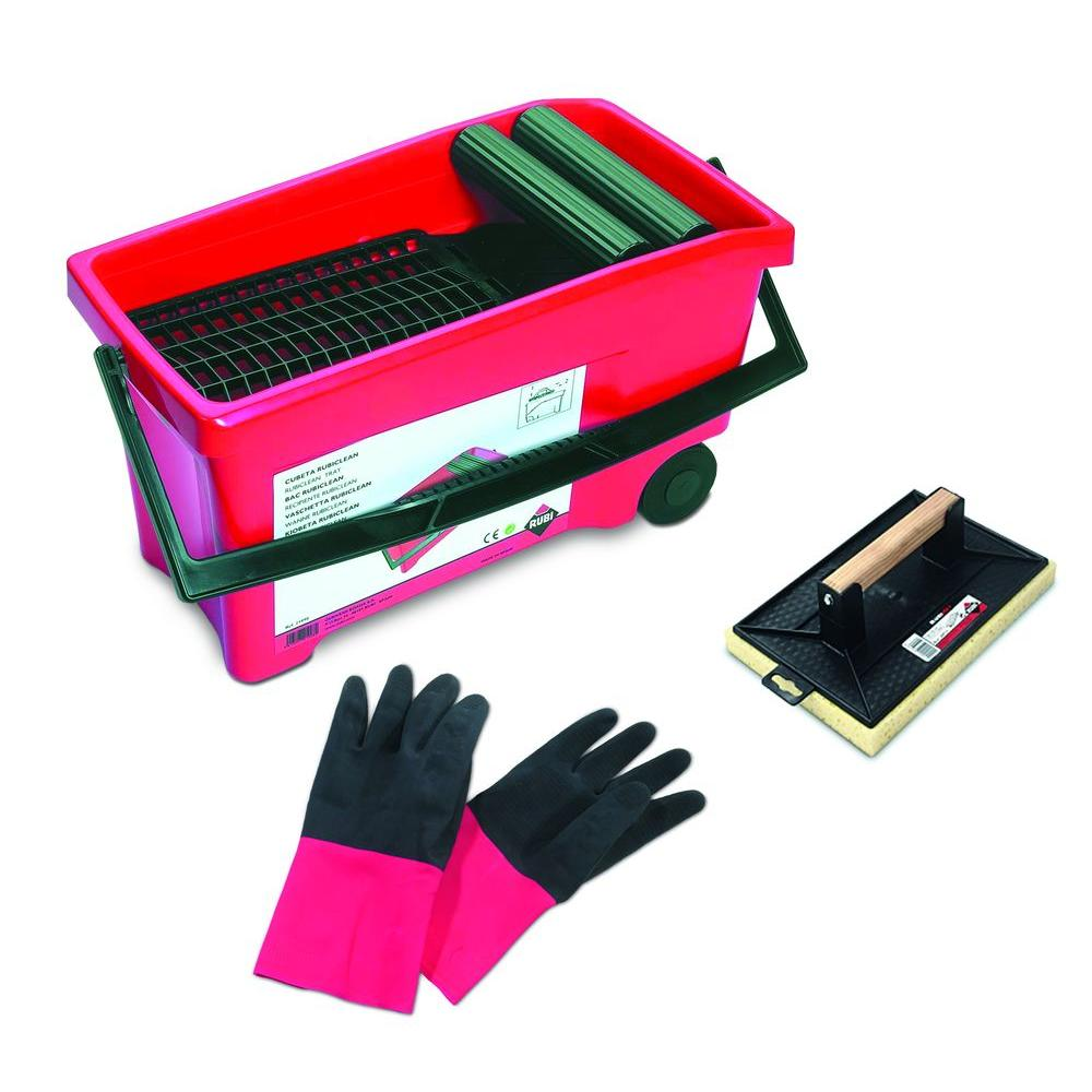 Rubi Grout Cleaning Bucket Kit-DISCONTINUED