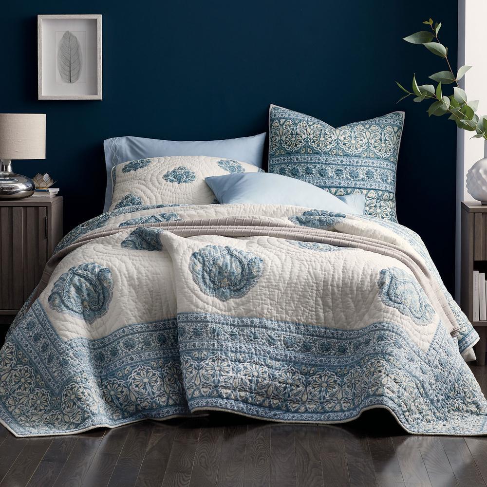 Stockton Floral Cotton Quilt