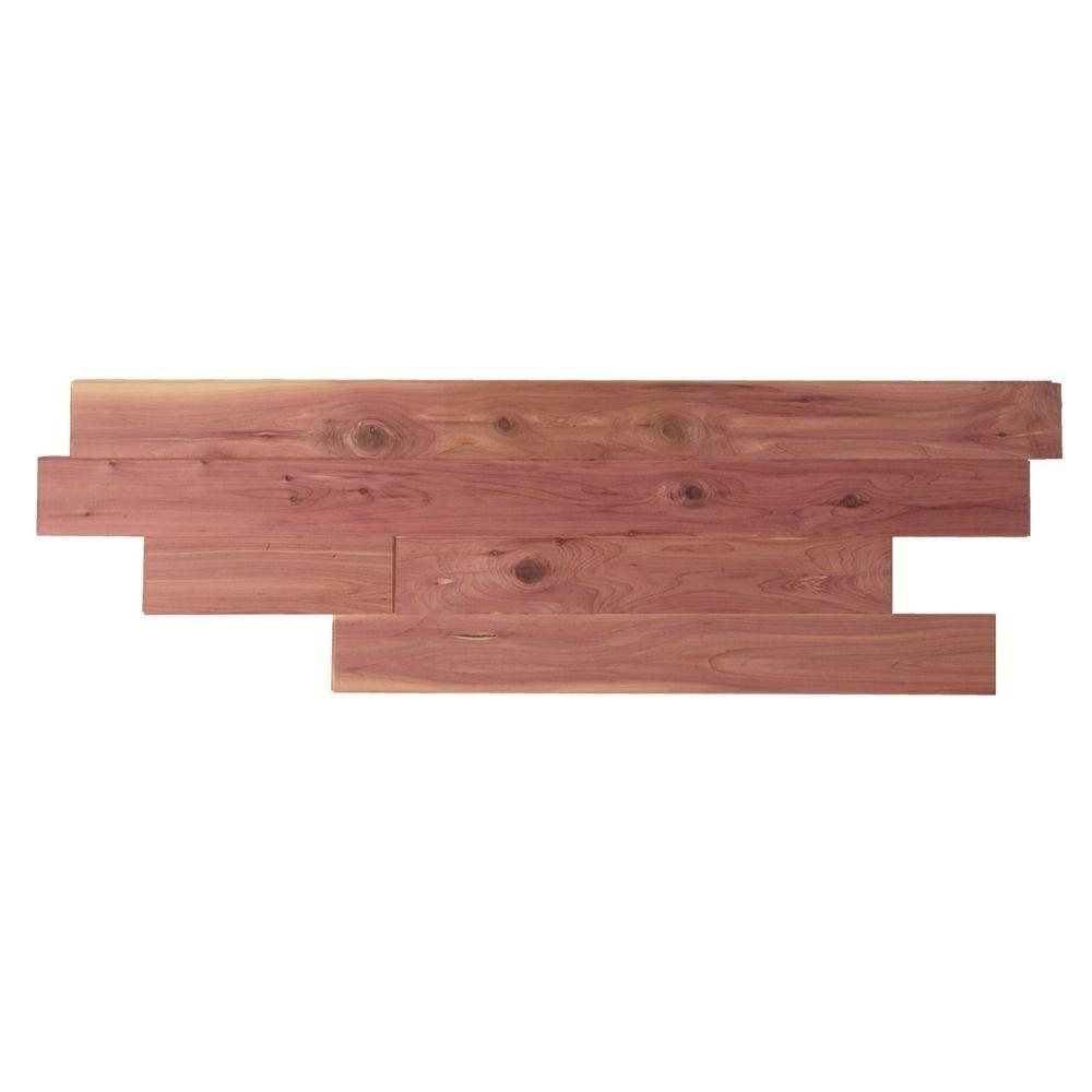 Aromatic Eastern Red Cedar Closet Liner Tongue and Groove Planks, 35