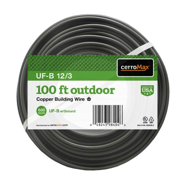 100 ft. 12/3 UF-B Wire