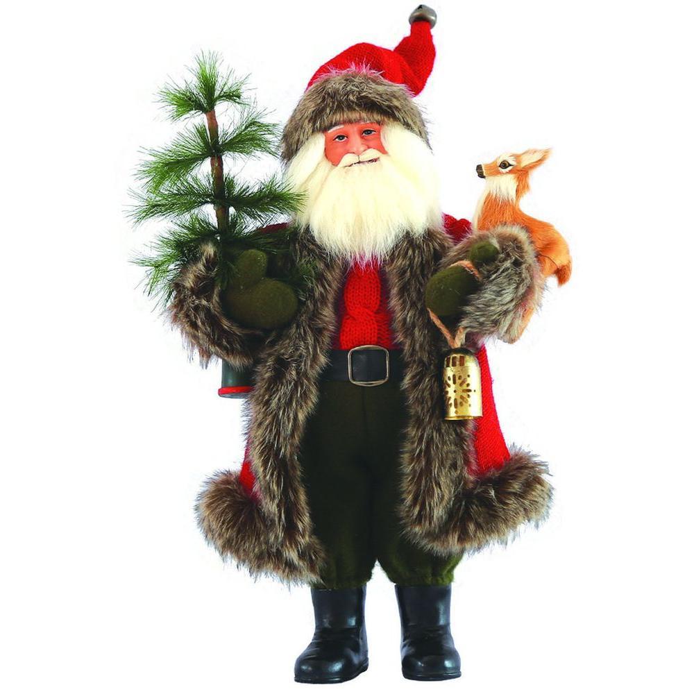15 in. Santa's Helper with Reindeer