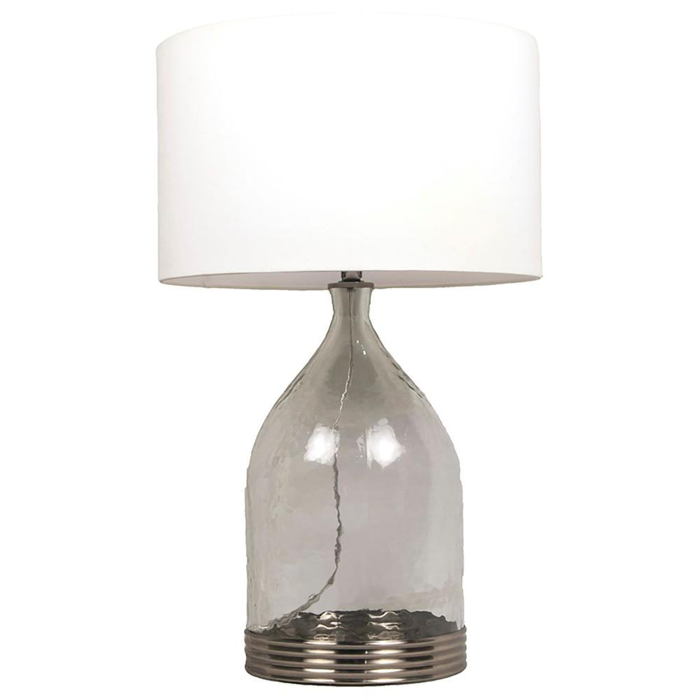 Renwil darlington 23 in antique silver table lamp lpt563 the antique silver table lamp geotapseo Image collections