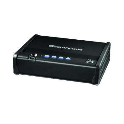 Single Gun Capacity Pistol Safe, Quick Access Biometric Gun Safe