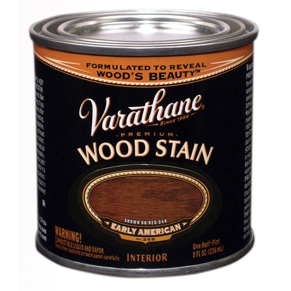 1/2-Pint Early American Premium Interior Wood Stain No.266