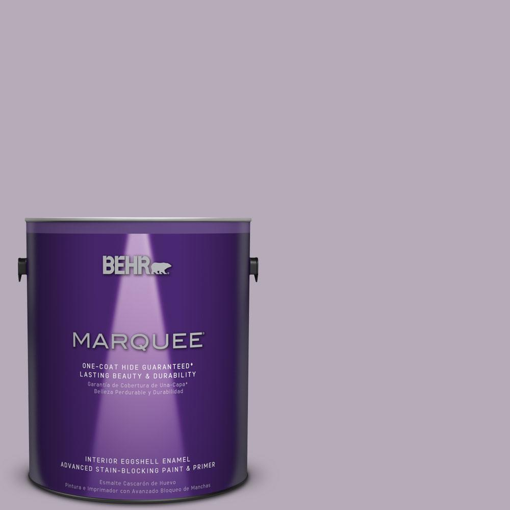BEHR MARQUEE 1 gal. #MQ5-36 Audition One-Coat Hide Eggshell Enamel Interior Paint