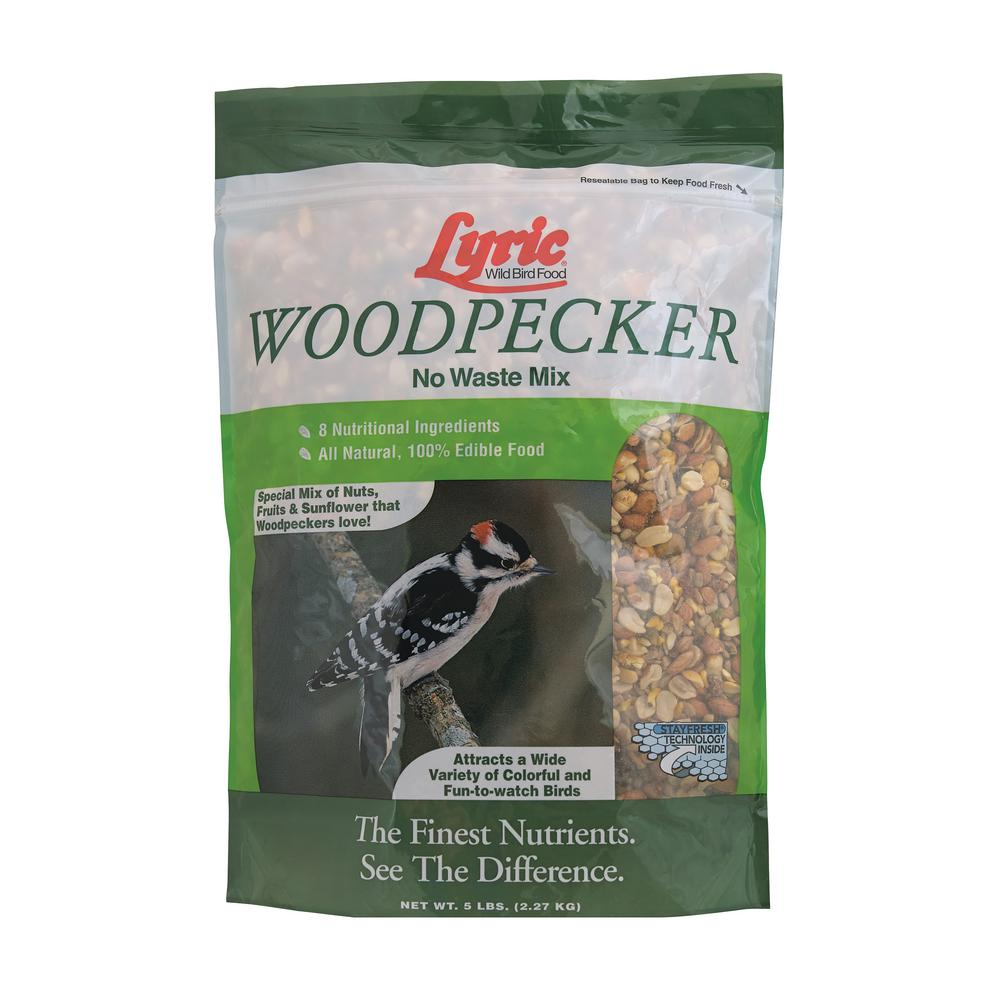 Lyric Lyric 5 lbs. Wild Bird Seed/Nut/Fruit No-Waste Mix for Woodpeckers