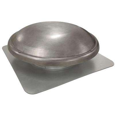 144 in. NFA Galvanized Steel Static Dome Roof Vent in Mill