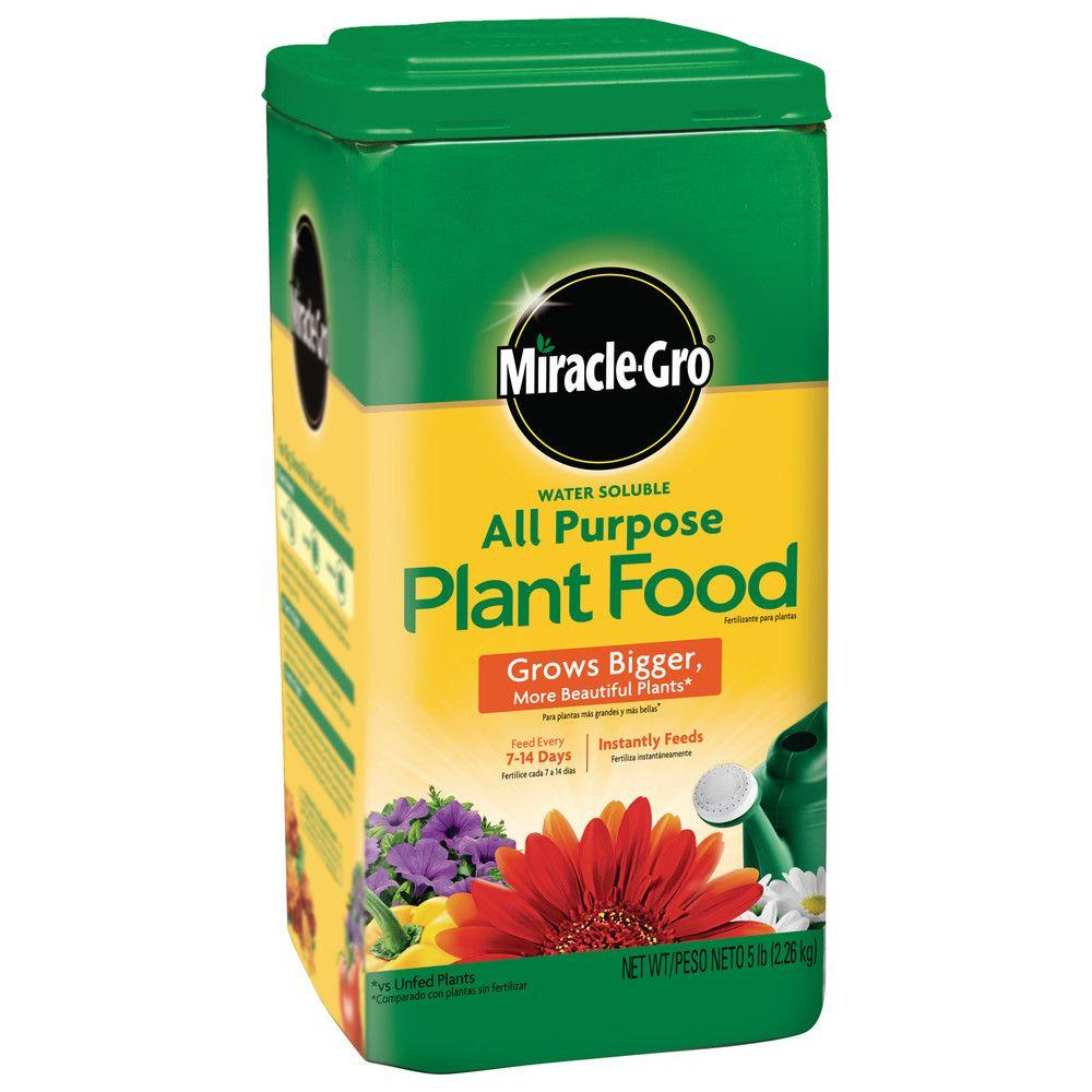 Miracle Gro Water Soluble 5 Lb All Purpose Plant Food