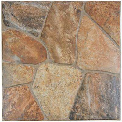 Lyon Caliza 17-3/4 in. x 17-3/4 in. Ceramic Floor and Wall Tile (17.5 sq. ft. / case)