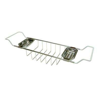 Claw Foot Bathtub Caddy in Polished Chrome