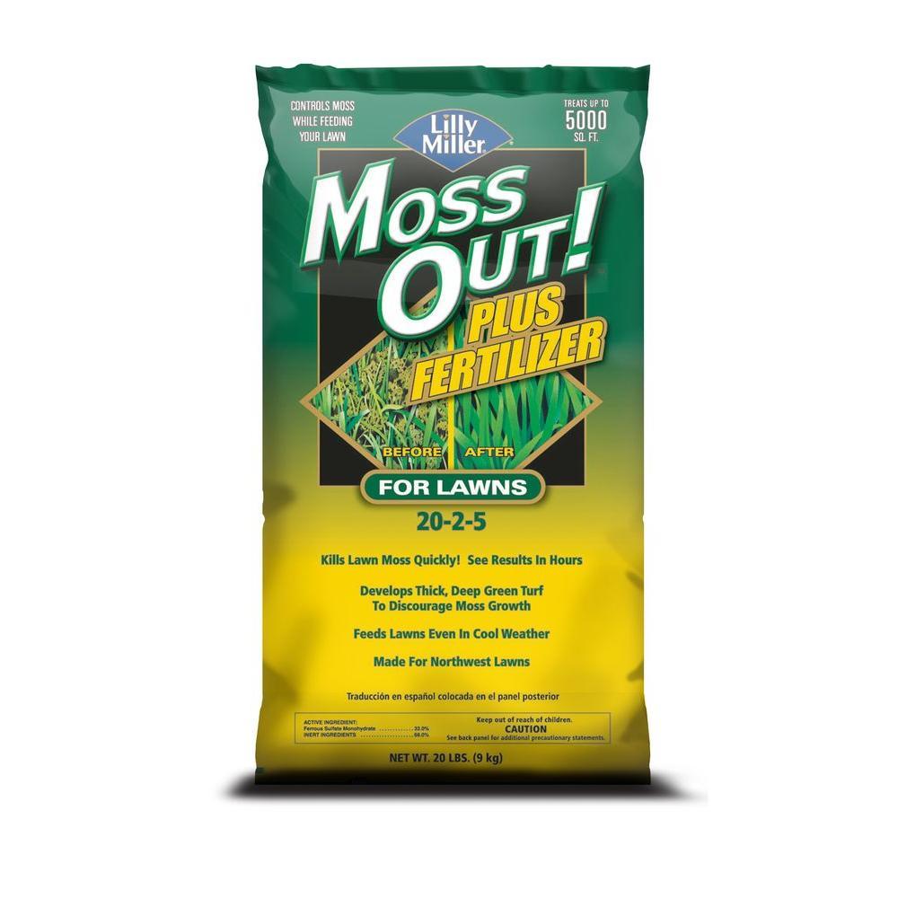 20 lb. Moss Out Plus Fertilizer