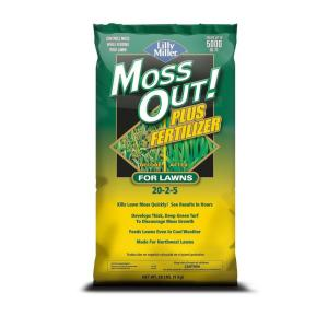 Moss Out 20 Lb Moss Out Plus Fertilizer 100508946 The Home Depot