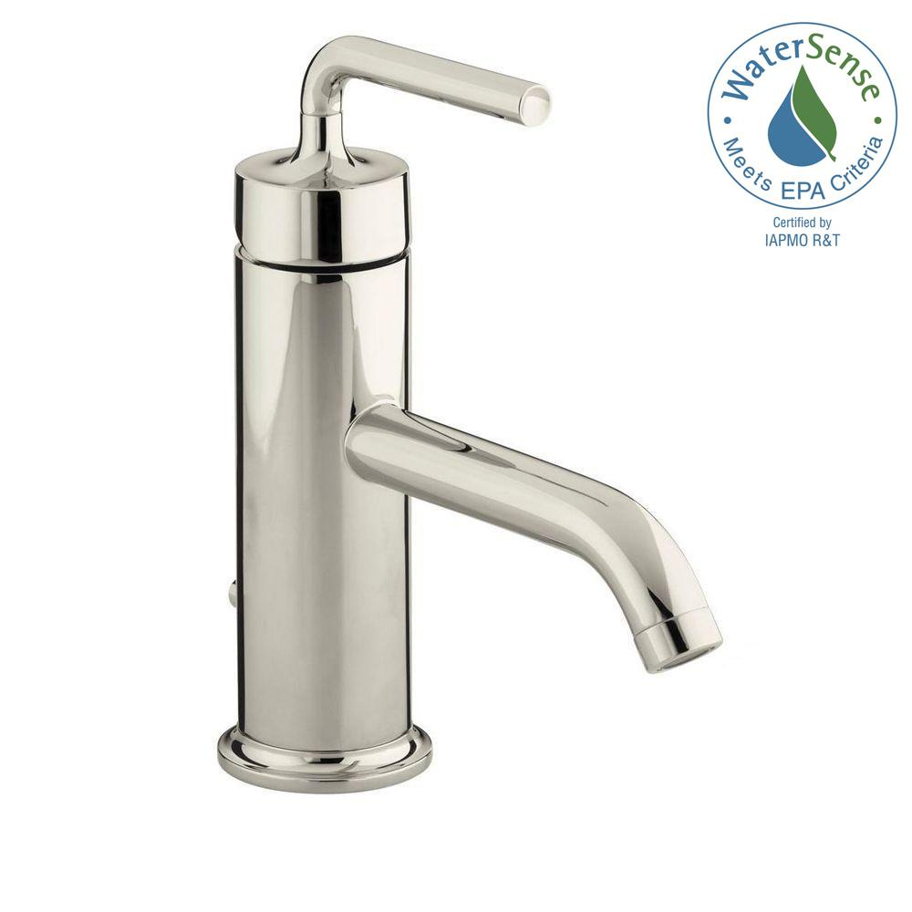 Kohler artifacts single handle pull down sprayer kitchen - Bathroom sink faucet with sprayer ...