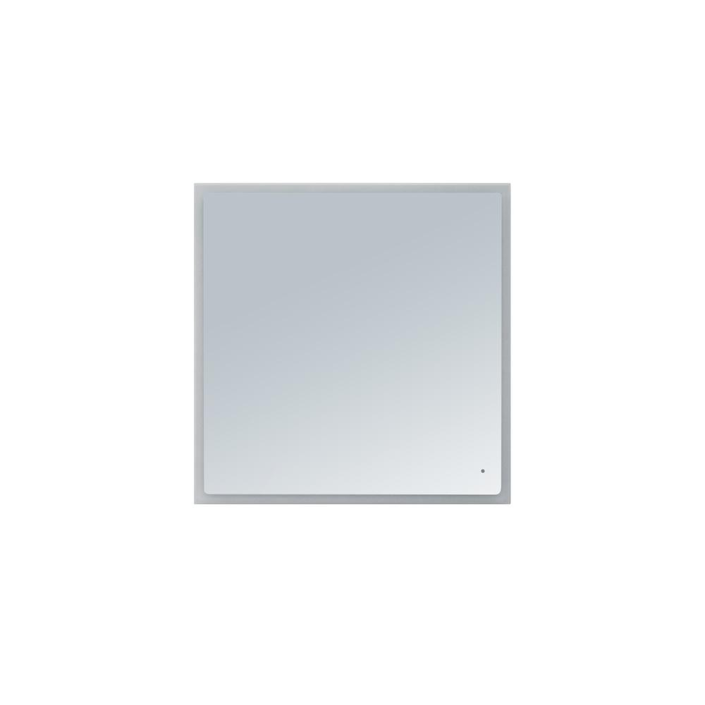 innoci usa hera 40 in x 40 in led mirror 63504040 the home depot. Black Bedroom Furniture Sets. Home Design Ideas