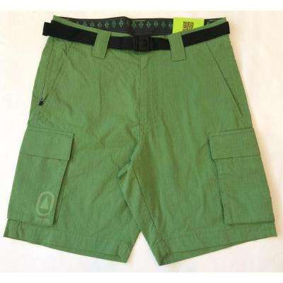 Technician Men's Cargo 38 in. Ivy Green Short