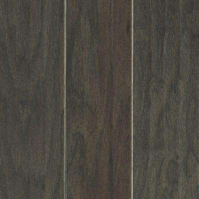 Take Home Sample - Hillsborough Hickory Charcoal Engineered Hardwood Flooring - 5 in. x 7 in.