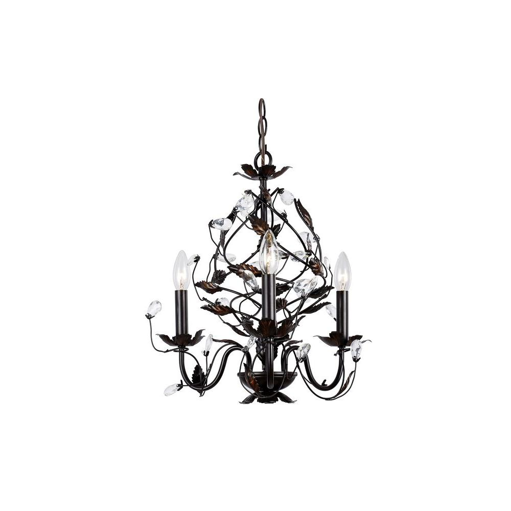 Hampton bay 3 light oil rubbed bronze chandelier hd 237003 the hampton bay 3 light oil rubbed bronze chandelier arubaitofo Gallery