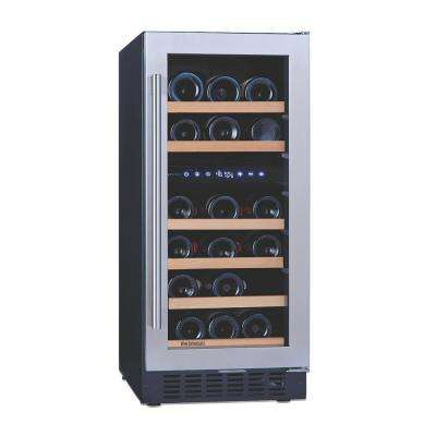 N'FINITY PRO SD 26-Bottle 15 in. Dual Zone Wine Cellar