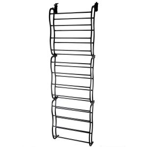 Home Basics Paris Collection Storage and Organization 20 Pocket Over the Door Shoe Holder