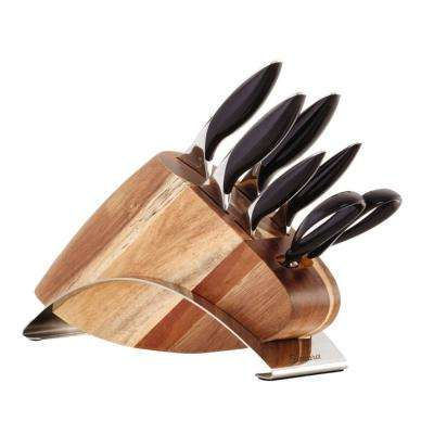 7-Piece German Steel Knife Block Set