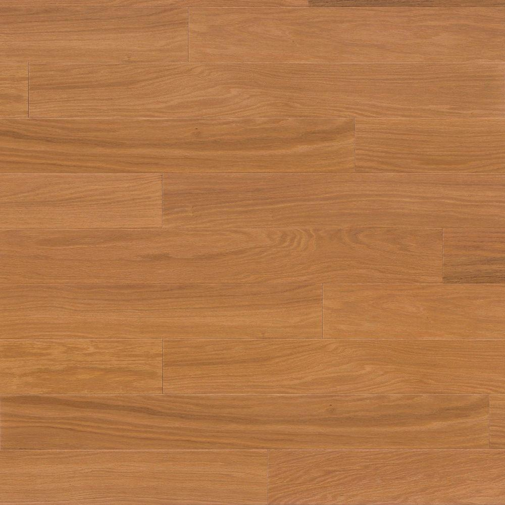 Nydree Flooring Essentials Oak Gunstock Engineered Hardwood Flooring - 5-1/4 in. x 9 in. Take Home Sample