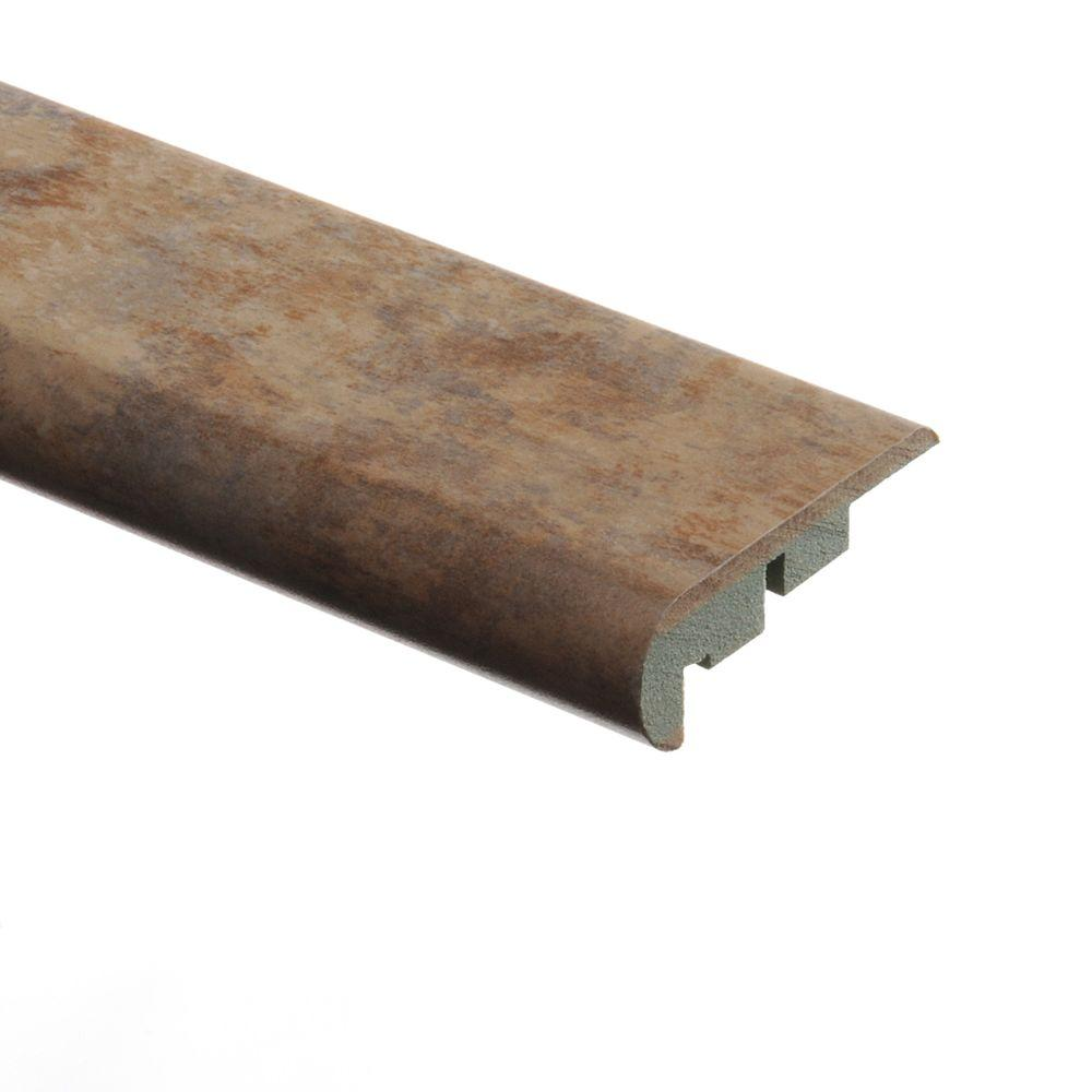 Zamma Aged Terracotta 3/4 in. Thick x 2-1/8 in. Wide x 94 in. Length Laminate Stair Nose Molding