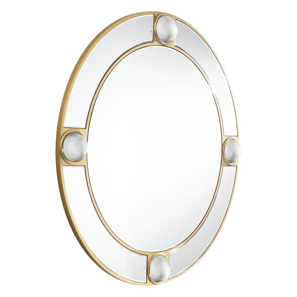 Round Lucite Wall Mirror Wall Mirror