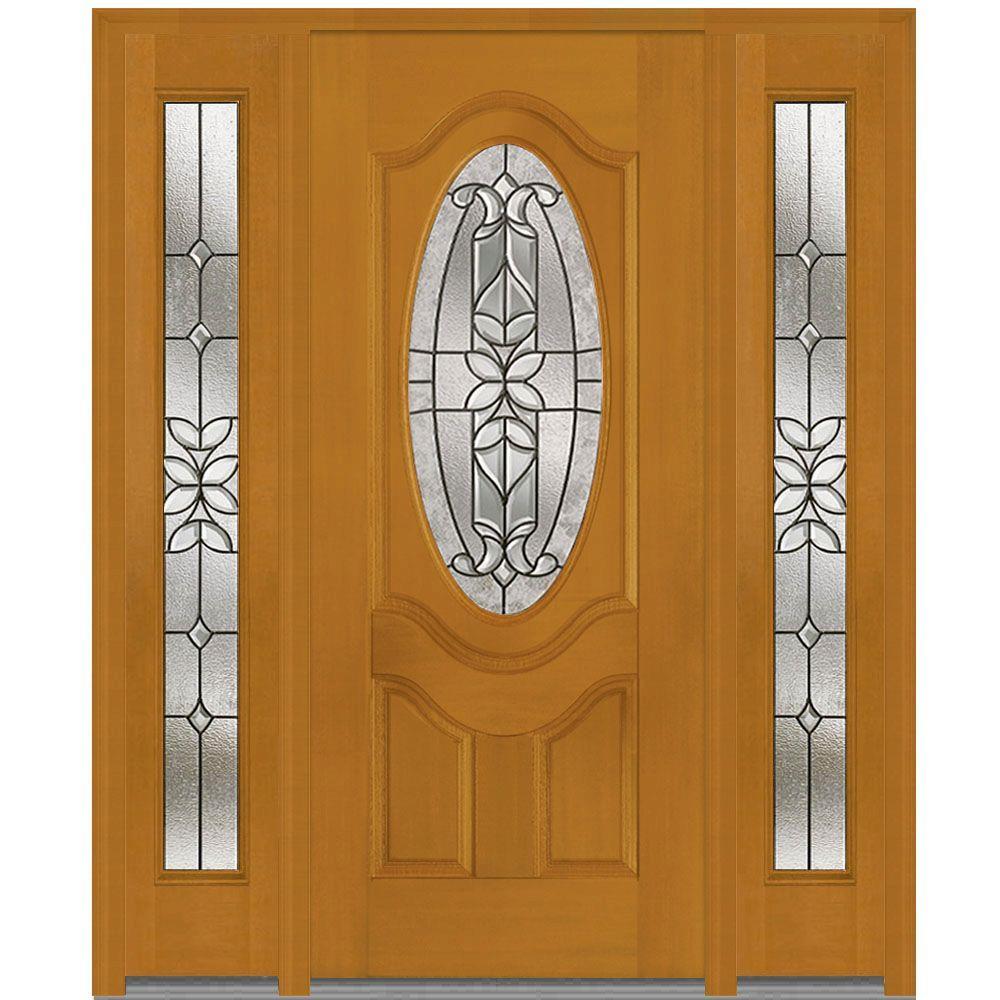 MMI Door 68.5 in. x 81.75 in. Cadence Decorative Glass Full Lite ...