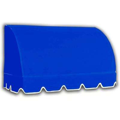 10.38 ft. Wide Savannah Window/Entry Awning (44 in. H x 36 in. D) Bright Blue