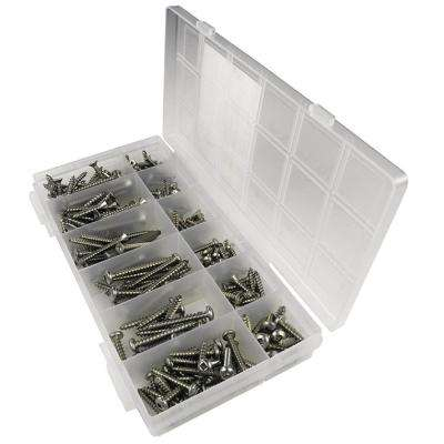 Square Drive Tapping Screw Kit (216-Piece)