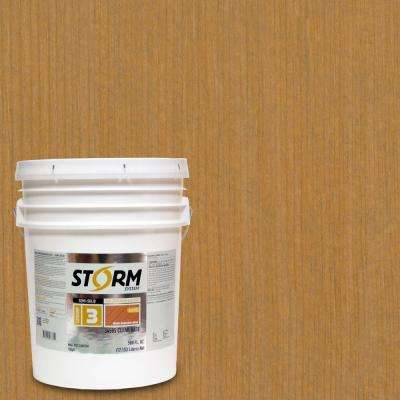 Category 3 5 gal. Natural Light Exterior Semi-Solid Dual Dispersion Wood Finish