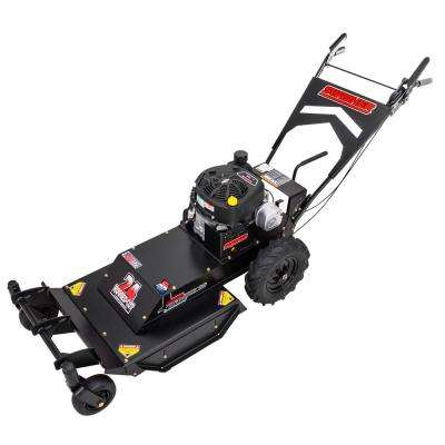 Predator 24 in. Briggs & Stratton 4 Spee Brush Cutter Gas Commercial Self Propelled Mower