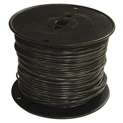 500 ft. 3/0 Black Stranded CU SIMpull THHN Wire