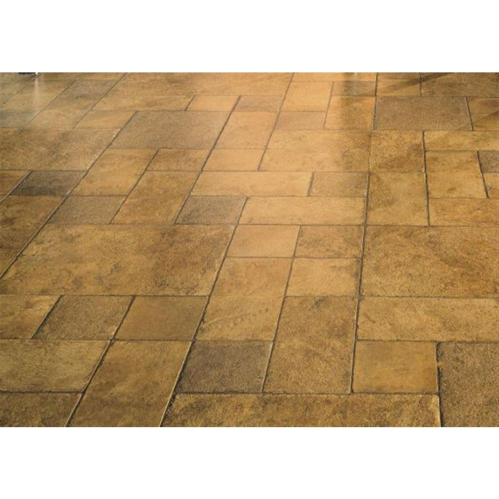 null Tuscan Stone Sand Laminate Flooring - 5 in. x 7 in. Take Home Sample-DISCONTINUED
