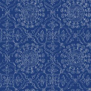 NuWallpaper Blue Byzantine Peel and Stick Wallpaper by NuWallpaper