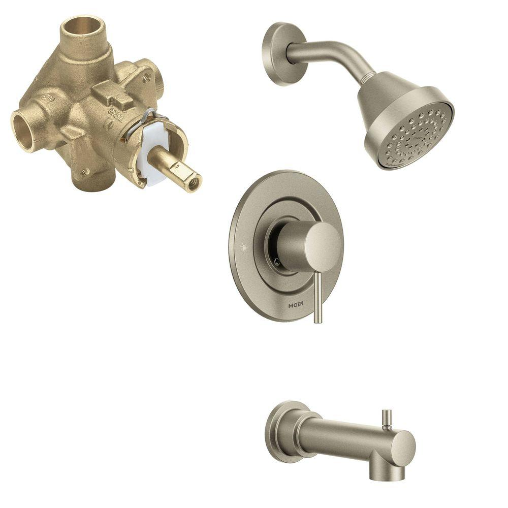 MOEN Align 1-Handle 1-Spray PosiTemp Tub And Shower Faucet