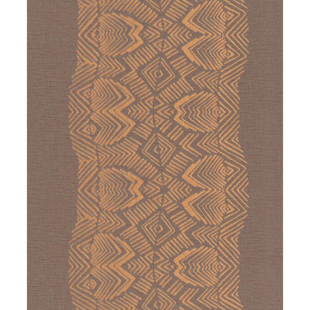 Southwestern Stripe in Brown
