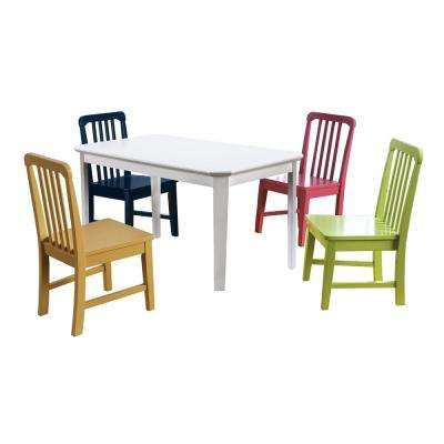 Shania 5-Piece Multi Youth Dining Set